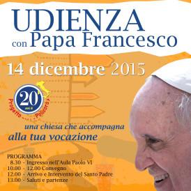 Udienza Policoro dal Papa