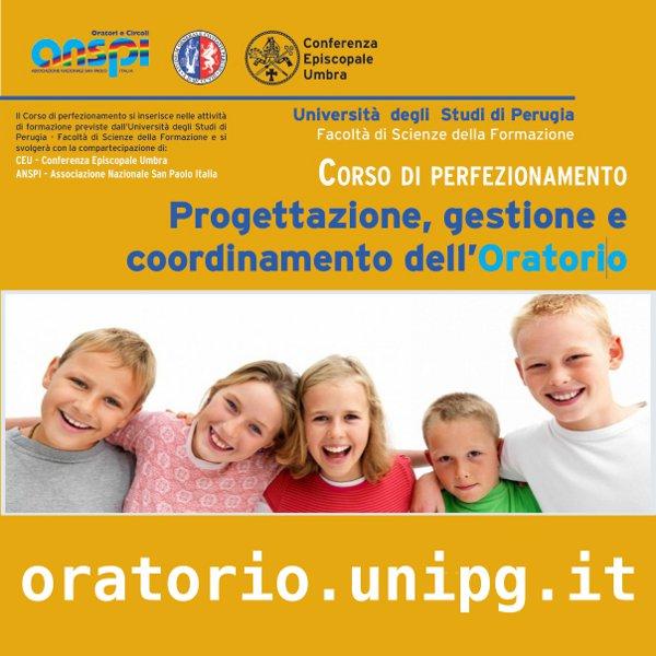 Corso Di Perfezionamento Oratorio – Università Di Perugia