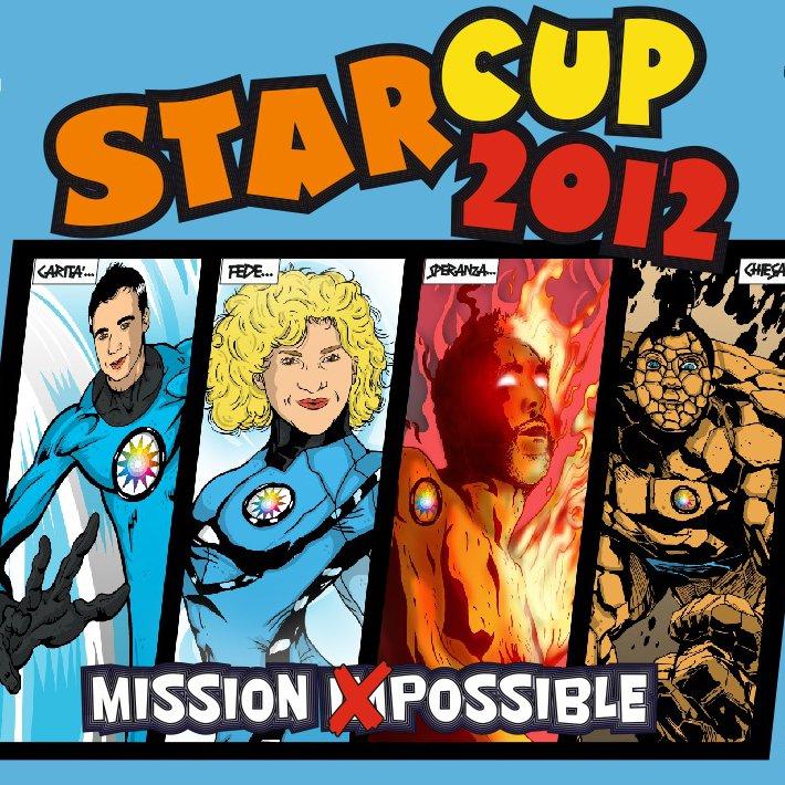 Logo Starcup 2012 – Quadrato