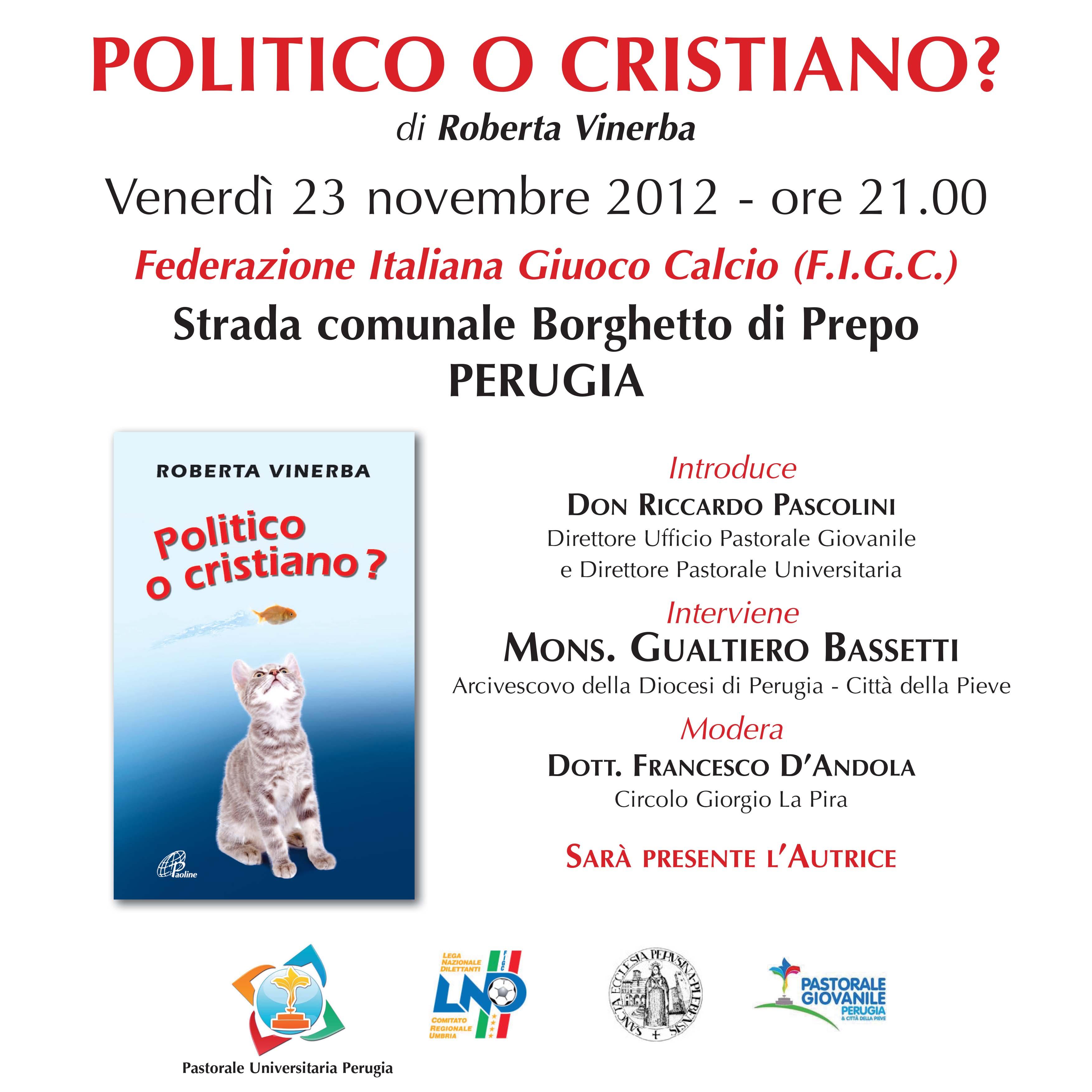 Logo Politico-cristiano 2012