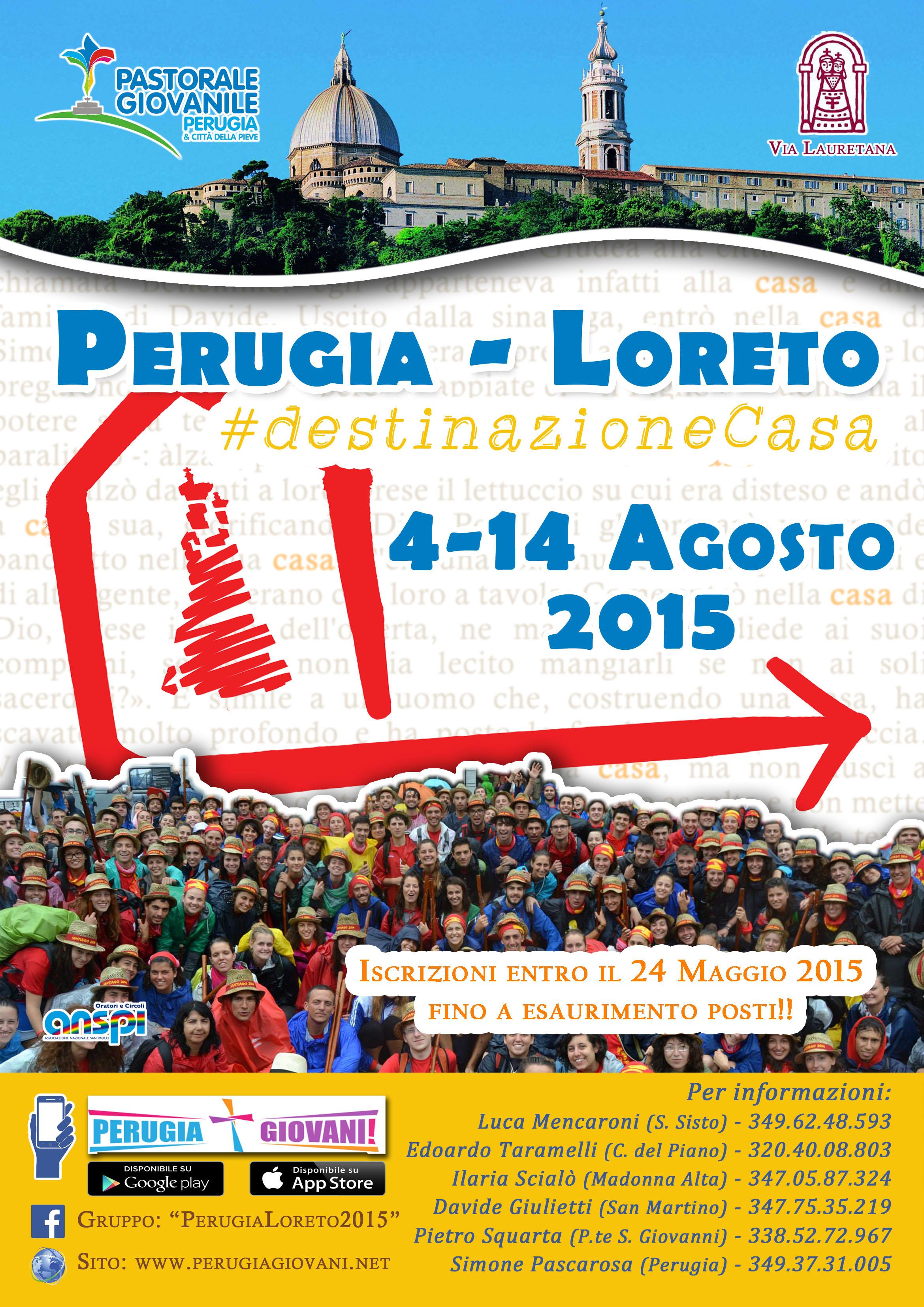 Perugia-Loreto 2015: Iscrizioni Aperte!