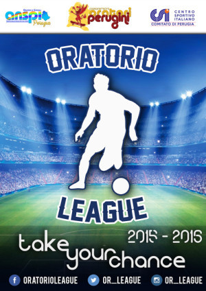 Volantino Oratorio League 2015-16
