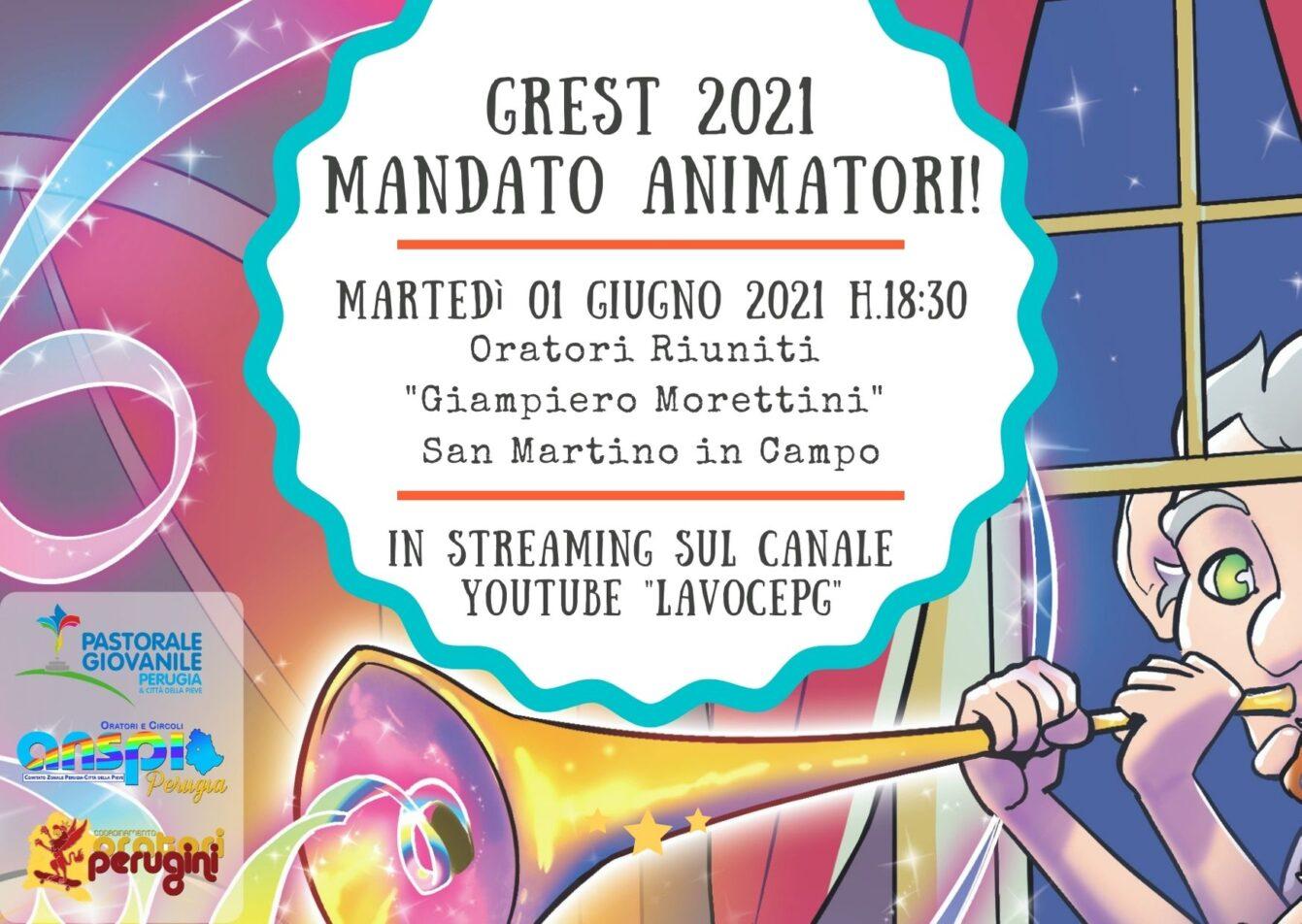 PROMO Mandato animatori 2021
